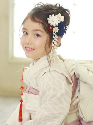 凛として咲く【葵】卒業式 七五三 成人式 結婚式 髪飾り