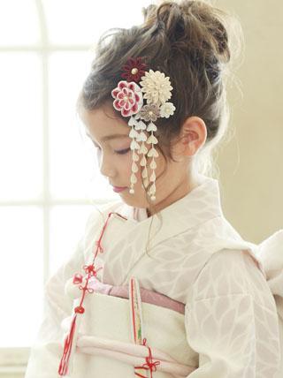 凛として咲く【可憐】卒業式 七五三 成人式 結婚式 髪飾り
